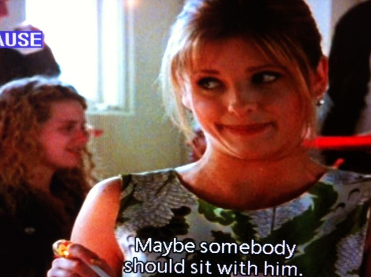 An Unflattering Buffy Screencap, circa Hurricane Sandy